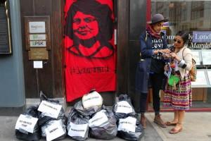 Berta Cáceres - Protest - Ceasefire