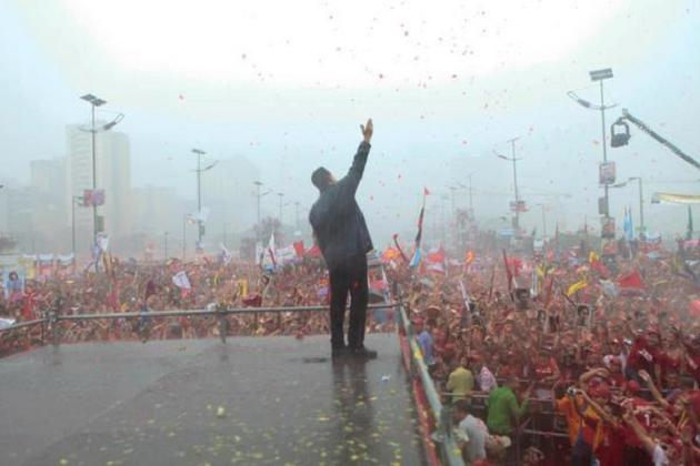 Chavez crowds