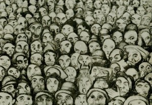 Josef Váchal's Cry of the Masses (source: vachal.cz)