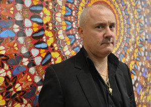 Damien Hirst at Tate Retrospective - April 2012