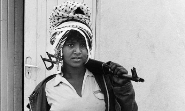 A female Eritrean guerrilla. (Photo: Jenny Matthews/Panos)