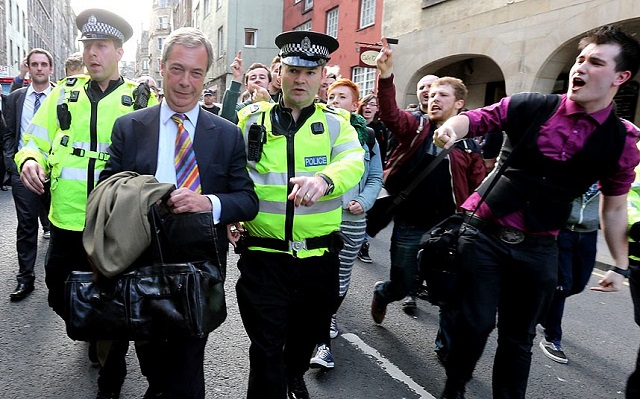 Farage Glasgow