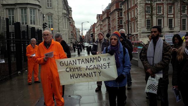 Guantanamo Protest - Aisha Maniar - Ceasefire Magazine