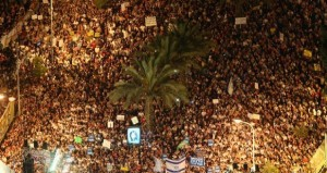 Israel's #J14 protests bring 280000 on to Tel Aviv street
