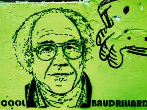 """In the field of language and signs, Baudrillard sees poetry, graffiti and seduction as types of alternative practice which create different ways of relating."" (photo: Patrick Giordano)"