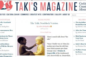 John Derbyshire Racist Article Taki Magazine