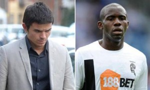 Liam Stacey (Left) who was jailed in March 2012 for racist tweets about Bolton footballer Fabrice Muamba