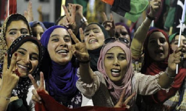 (Arab) Woman's Hour? | Ceasefire Magazine Libyan Women