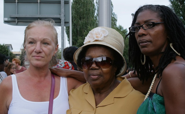 Mark Duggan aunt Joy Gardner mum and Sean Rigg sister - Ceasefire Magazine