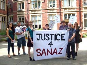 Sanaz Raji Protest