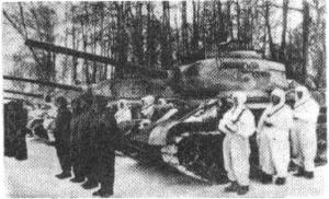 The Soviet Armenian tank regiment. (Photo: Sasuntzi Davit)
