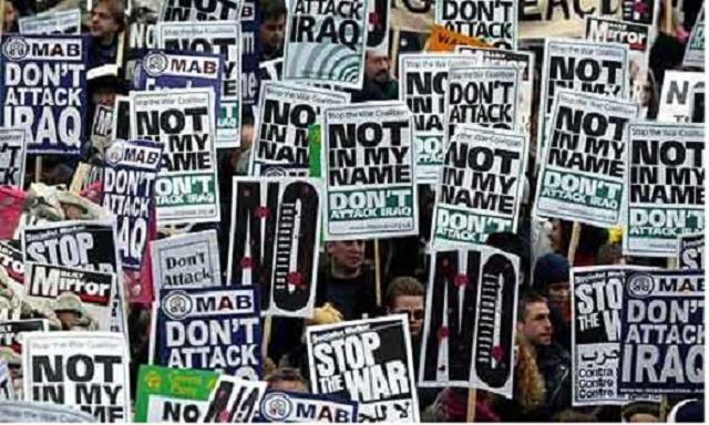 Stop the war - Ian Sinclair - Ceasefire