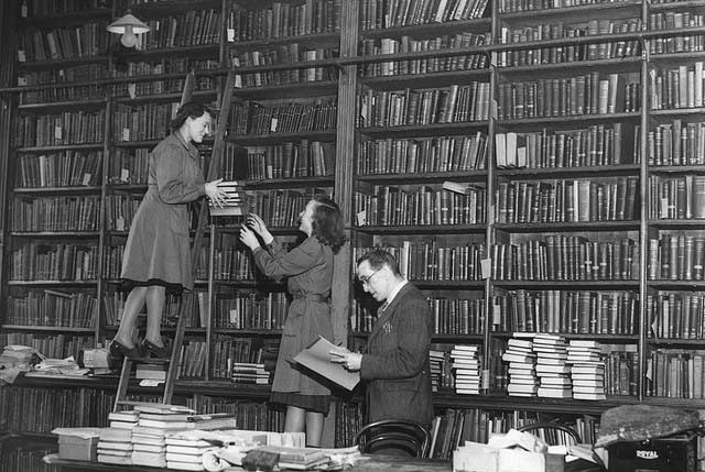 Temporary Lending Library Central Library New Bridge Street Newcastle upon Tyne Unknown 1949