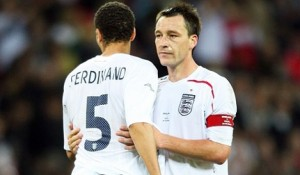 Terry Ferdinand John Terry and Rio Ferdinand Fighting For Respect