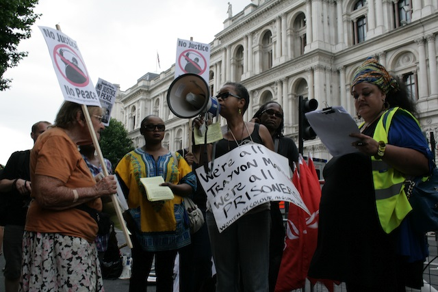 Trayvon Martin London Demo - Ceasefire Magazine