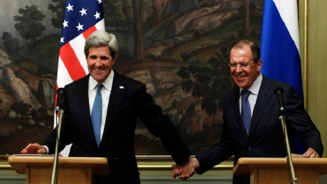 US - Russia - Kerry - Lavrov - Syria - Propaganda