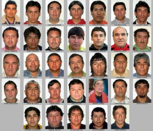 chile miners - 614