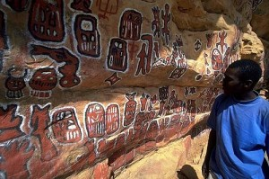 Dogon cave art, Mali, West Africa